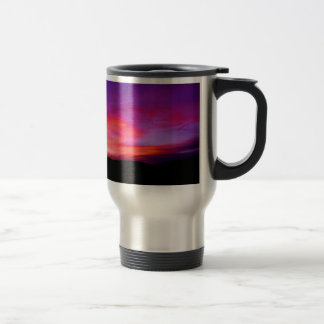 pink and purple sky coffee mug