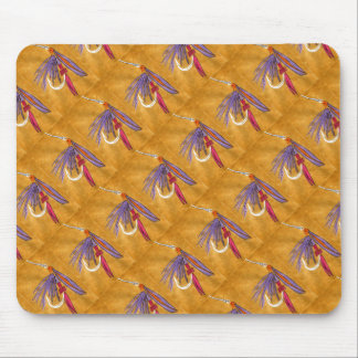"""Pink and Purple"" ''Tiled Trout Fly Mousepad"