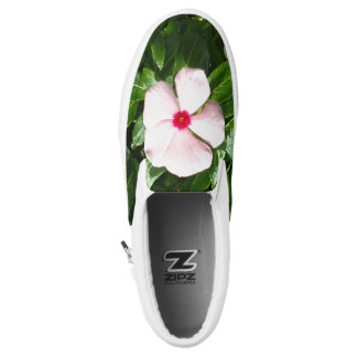 PINK AND RED FLOWER Slip-On SNEAKERS