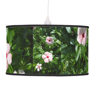 PINK AND RED FLOWERS PENDANT LAMP