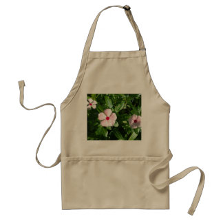 PINK AND RED FLOWERS STANDARD APRON