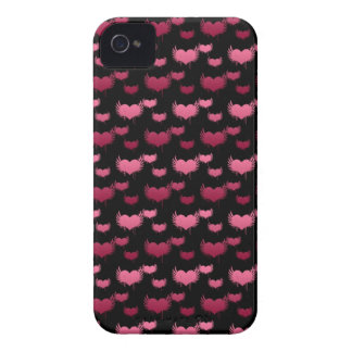 Pink and Red Hearts Pattern Case-Mate iPhone 4 Case