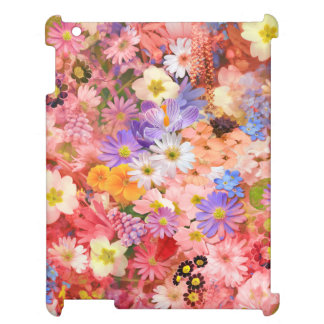Pink and Red Spring Flowers Cover For The iPad