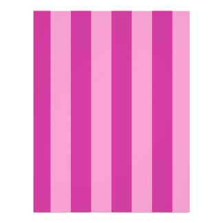 Pink and Red-violet Stripes Flyer
