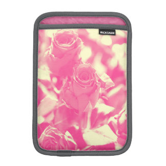 Pink and Soft Yellow Roses iPad Mini Sleeve
