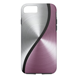 Pink ANd Steel iPhone 7 Case