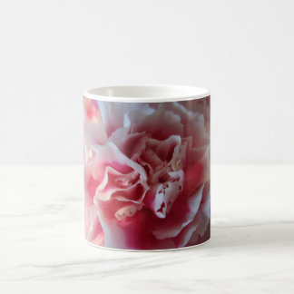 Pink and White Carnation Photo Mug