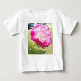 pink and white changeable hibiscus bloom baby T-Shirt