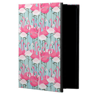 Pink And White Crowd Of Flamingos iPad Air Cases