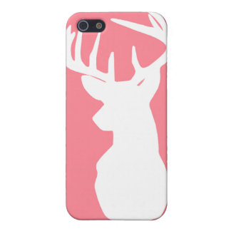 Pink and White Deer Case (MATTE) iPhone 5/5S Case