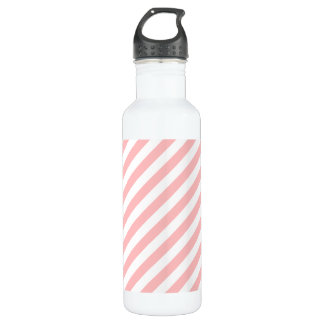 Pink and White Diagonal Stripes Pattern