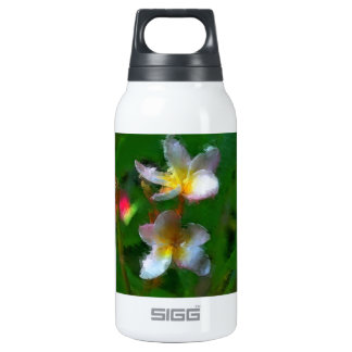 Pink And White Flower Multiple Insulated Water Bottle