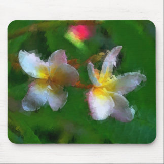 Pink And White Flower Multiple Products Mouse Pad