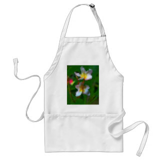Pink And White Flower Multiple Products Standard Apron