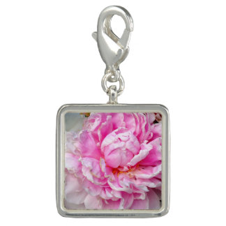 Pink and White Peonies Charm