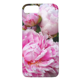 Pink and White Peonies iPhone 8/7 Case
