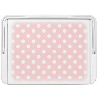 Pink and White Polka Dot Pattern