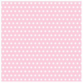 Pink and White Polka Dots Pattern Photo Sculpture