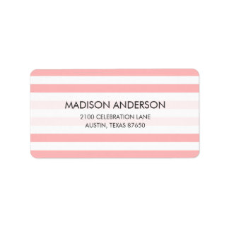 Pink and White Stripe Pattern