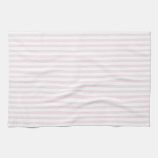Pink and white stripes - Kitchen Towel