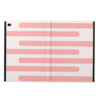 Pink and White Stripes Powis iPad Air 2 Case