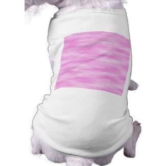 Pink and White Wavy Pattern. Shirt