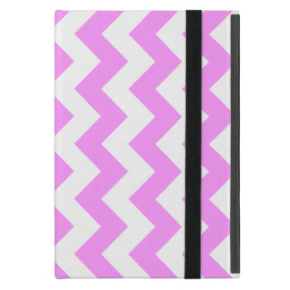 Pink and White Zigzag Cases For iPad Mini