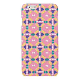 Pink and Yellow - Geometric - iPhone Case - 6/6s