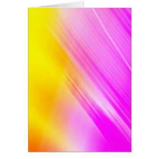 Pink And Yellow Haze Greeting Card