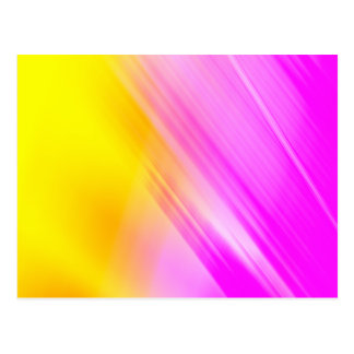 Pink And Yellow Haze Post Card