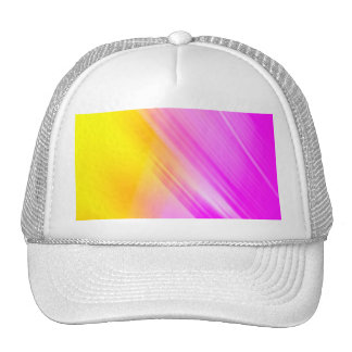 Pink And Yellow Haze Trucker Hat