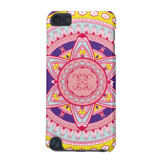 Pink and Yellow Mandala Cell Phone Case