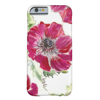 Pink Anemone Watercolor iPhone 6 case