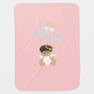 Pink Angel Baby Baby Blanket