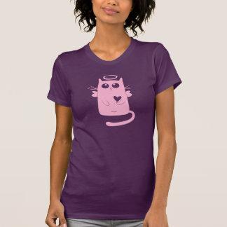 Pink Angel Cat T-Shirt