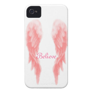 Pink Angel Wing iPhone 4 Case