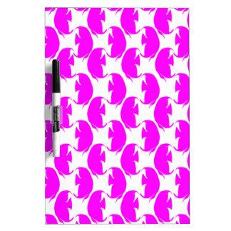 Pink Angelfish Dry-Erase Whiteboard