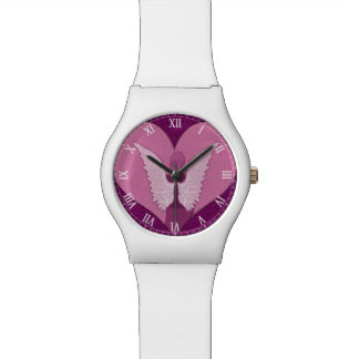 Pink Angels with Heart Watch
