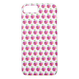 Pink Apples Pattern iPhone 7 Case