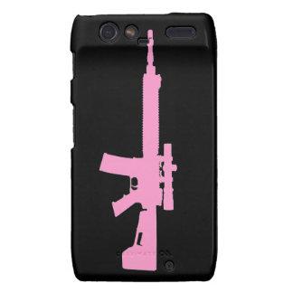 Pink AR-15 Case-Mate Motorola Droid RAZR Droid RAZR Case