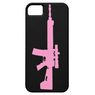 Pink AR-15 iPhone 5 Universal Case iPhone 5 Covers