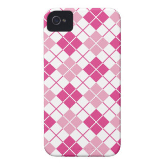 Pink Argyle iPhone 4 Cases