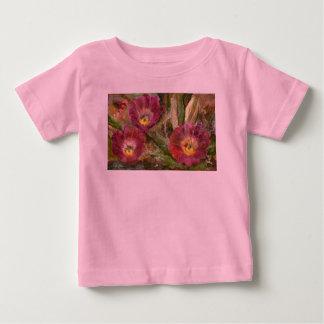 Pink Arizona Desert Flowers Baby T-Shirt