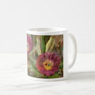 Pink Arizona Desert Flowers Coffee Mug
