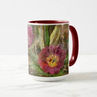 Pink Arizona Desert Flowers Mug