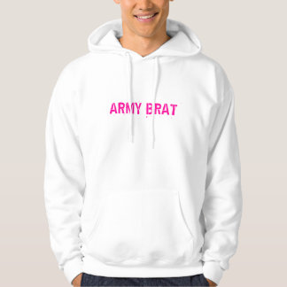PINK ARMY BRAT HOODIE