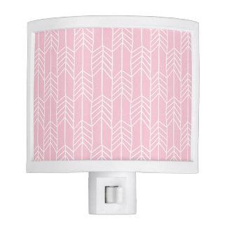 Pink arrow design night light
