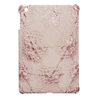Pink Art Deco glass vase with bubbles. Case For The iPad Mini