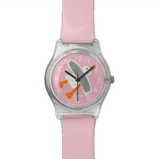 Pink Art Watch: John Dyer Cornish Seagull Watch