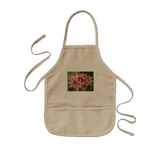 Pink Asiatic Lily Kids Apron